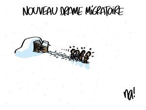 Nouveau drame migratoire