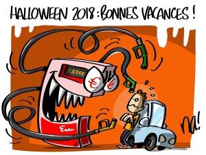 Halloween 2018 : bonnes vacances !