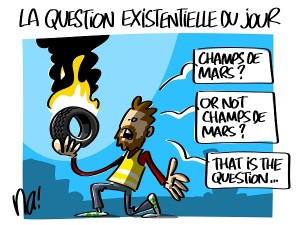la question existentielle du jour
