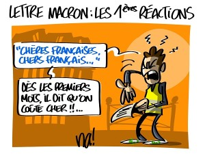 Lettre Macron, les premières réactions