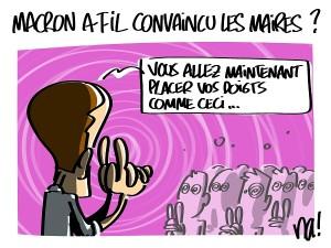 Macron a-t-il convaincu les maires ?