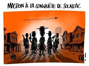 Macron à la conquête de Souillac