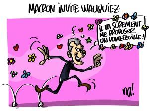 Macron invite Wauquiez