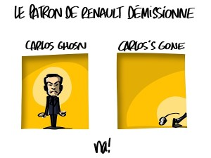 Carlos Ghosn démissionne
