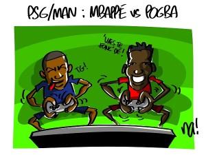 PSG – Manchester, Mbappé vs Pogba