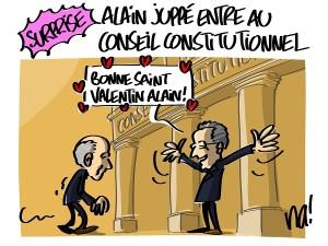 Alain Juppé entre au conseil constitutionnel