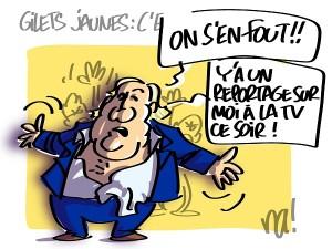 Gérard Depardieu vs Gilets Jaunes