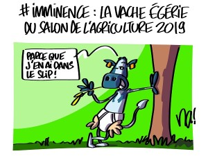 Imminence, la star du salon de l'agriculture 2019