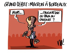 Grand débat, Macron à Bordeaux