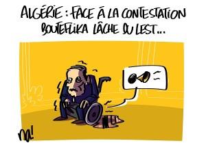 Algérie, Bouteflika lâche du lest