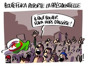 Bouteflika reporte la présidentielle