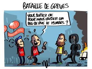 Batailles de grèves