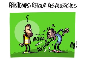 Printemps, le retour des allergies