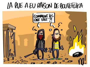 La rue a eu raison de Bouteflika