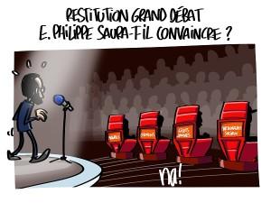 Restitution grand débat, Edouard Philippe saura-t-il convaincre ?