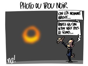 photo du trou noir