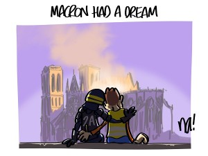 Acte 23, Macron had a dream