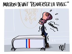 Macron devait «renverser la table»
