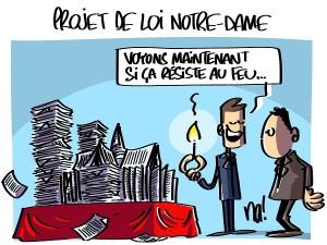 Projet de loi Notre-Dame