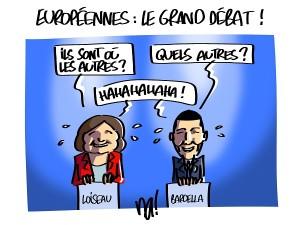 Européennes, le grand débat !
