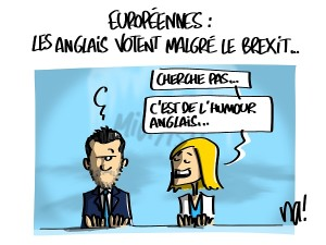 Européennes, les Anglais votent malgré le Brexit