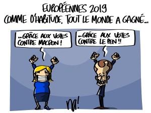 Européennes 2019, tout le monde a gagné !