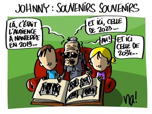Johnny, souvenirs, souvenirs…