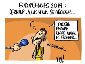 Européennes 2019, dernier jour pour se décider