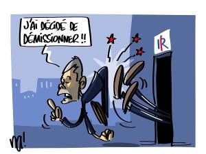 Laurent Wauquiez démissionne