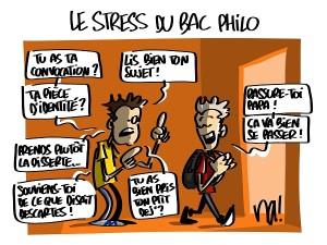 Le stress du bac philo
