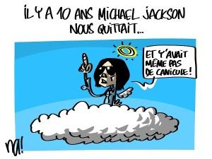 Il y a 10 ans Michael Jackson nous quittait