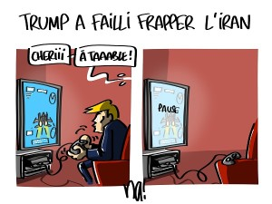 Trump a failli frapper l'Iran