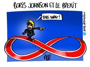 Boris Johnson et le Brexit
