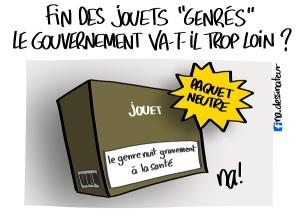 fin des jouets «genrés» le gouvernement va-t-il trop loin ?