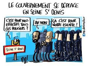 le gouvernement se déplace en Seine Saint Denis
