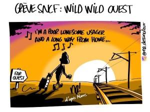 Grève SNCF, wild wild ouest