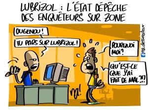 Lubrizol, l'Etat dépêche des enquêteurs sur zone