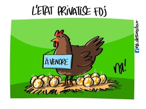 L'état privatise fdj