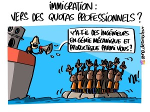 immigration : vers des quotas professionnels ?