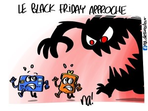 le black friday approche