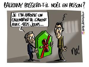 Balkany passera-t-il Noël en prison ?