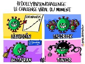 #dollypartonchallenge, le challenge viral du moment