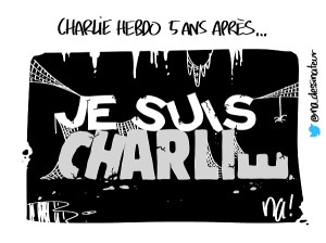 Charlie Hebdo 5 ans après…