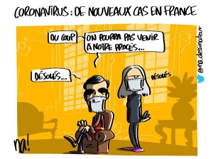 Coronavirus, de nouveaux cas en France