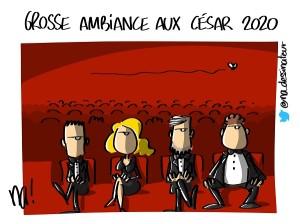 grosse ambiance aux César 2020