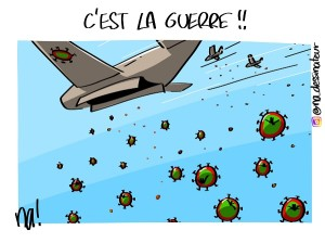 C'est la guerre !