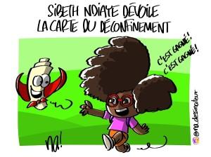 Sibeth Ndiaye dévoile la carte du déconfinement