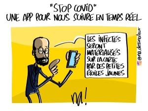 «Stop Covid» une app pour nous suivre en temps réel