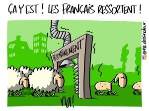 ça y est ! les Français ressortent !