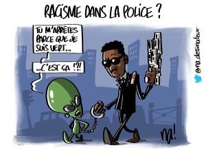 Racisme dans la police ?
